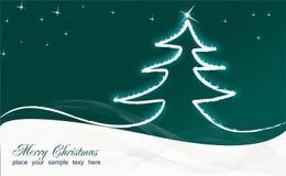 看板卡圣诞节 图库摄影