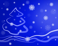 看板卡圣诞节 库存照片