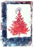看板卡圣诞节grunge 免版税库存照片