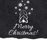 看板卡快活圣诞节的问候 库存图片