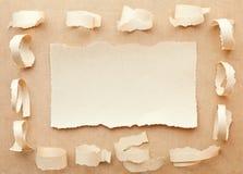 看板卡手工纸 免版税库存图片