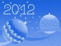 看板卡招呼的新的s年 免版税库存图片