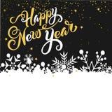 看板卡新年好 免版税库存图片