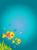 看板卡海洋 免版税图库摄影