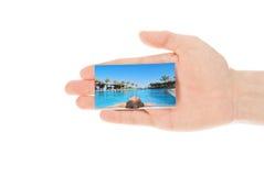 看板卡现有量旅行 免版税库存照片