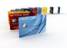 看板卡赊帐 向量例证
