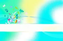 看板卡springflower 图库摄影