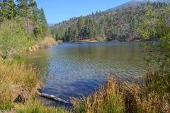 看横跨风景JENKS湖 库存照片