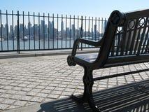 看法向曼哈顿 库存照片