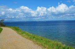 看法向波罗的海 免版税图库摄影