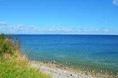 看法向波罗的海 免版税库存照片