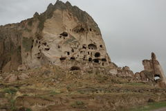看法在卡帕多细亚地区 库存照片