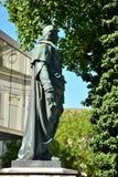 看法在历史名城萨尔茨堡,奥地利 免版税库存照片