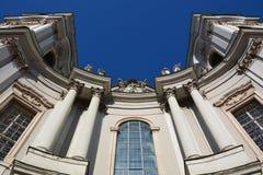 看法在历史名城萨尔茨堡,奥地利 免版税库存图片