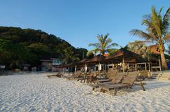 看法在马来西亚的Redang海岛 库存图片