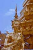 雕塑Kinnara 库存图片