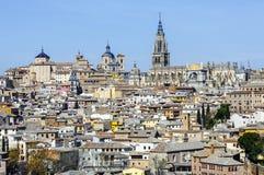 看法托莱多西班牙 免版税库存图片