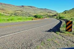 看法的看法在开放高速公路乡愁 免版税库存照片