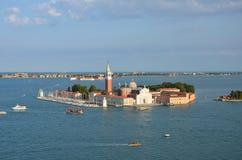 圣Giorgio Maggiore -威尼斯-意大利 库存照片