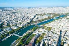 巴黎看法  库存图片