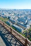巴黎看法  免版税库存照片