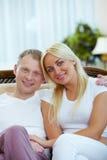 丈夫和妻子 库存照片