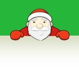 看的圣诞老人。  图库摄影