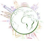看见世界 免版税库存照片