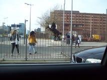 看见的利物浦巨大事  库存图片