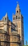 看见的圣母玛丽大教堂 塞维利亚西班牙 免版税图库摄影