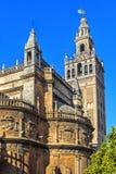看见的圣母玛丽大教堂 塞维利亚, 库存照片