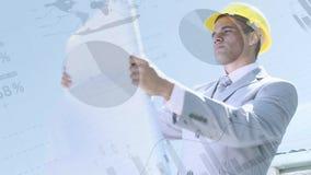 看计划的工程学 股票录像