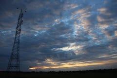 看象这样的天空在旅行期间,我要记录它 免版税图库摄影