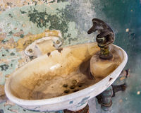 真正地讨厌的水槽 库存图片