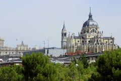 真正的大教堂de旧金山el重创在马德里 库存图片