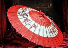 真正的日本伞 库存照片