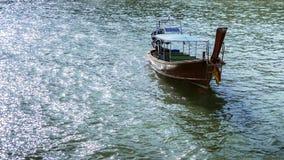 真正的泰国小船 免版税图库摄影