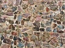 真正的石墙 免版税图库摄影