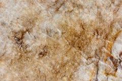 真正的自然'石英岩Cristallo布朗'纹理样式 图库摄影