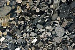 真正的自然'花岗岩Marinace黑色金子'纹理样式 库存图片