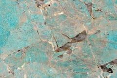 真正的自然花岗岩Amazzonite额外样式 ?? 库存照片