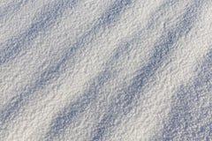 真正的雪表面 库存照片