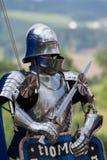 真正的骑士的装甲 免版税库存照片