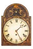 真正装饰17世纪时钟 免版税图库摄影