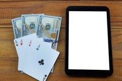 真正赌博娱乐场,真正的金钱 免版税库存图片