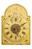 真正17世纪时钟 免版税库存照片