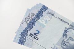 真正巴西的笔记 免版税库存照片