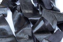 真正snakeskin皮革,蛇皮,纹理背景 免版税库存照片