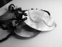 真珠色的手工制造项链 免版税图库摄影
