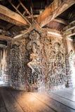 真相圣所在芭达亚,泰国 免版税图库摄影